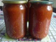 Домашний томатный соус с яблоками