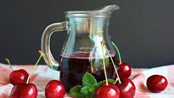 Как сделать вишневый сироп 852