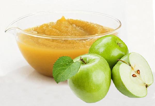 Приготовление пюре из яблок