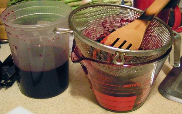 сироп из чёрной смородины