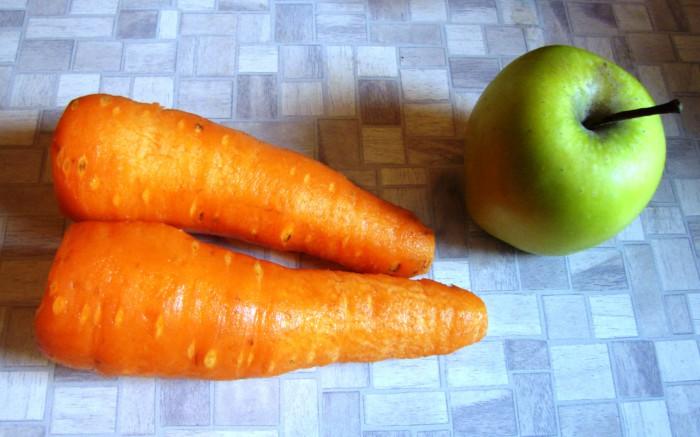 Сладкая икра из моркови и яблок