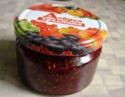 Малиновый джем с ягодами ежевики