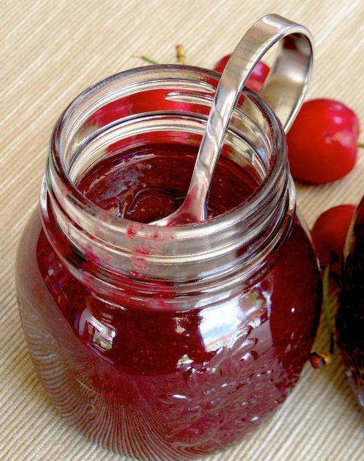 Как сделать из вишни повидло