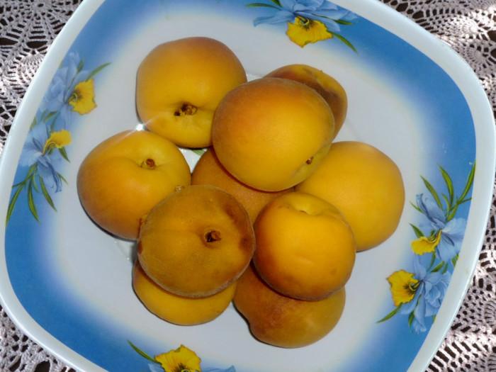 Пюре из персиков на зиму