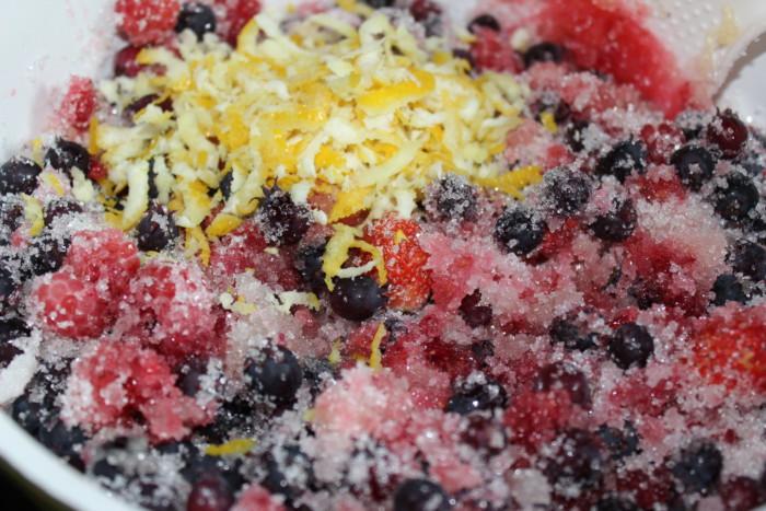 Домашний ягодный мармелад с лимоном