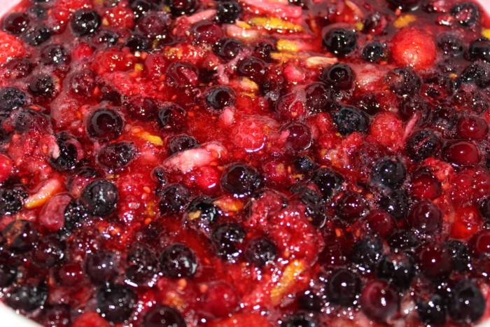 Домашний мармелад из ягод и лимонов