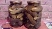 Квашеные огурцы в банке на зиму без стерилизации
