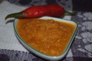 Аджика из кабачков, помидор и перца на зиму