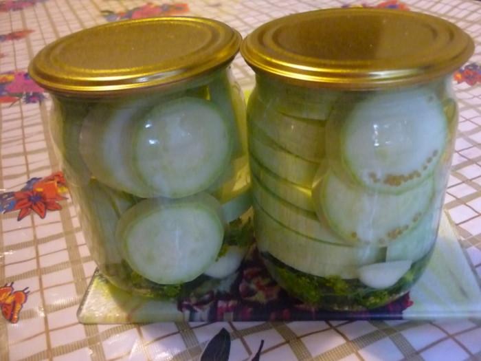 Вкусный рецепт маринованных кабачков на зиму