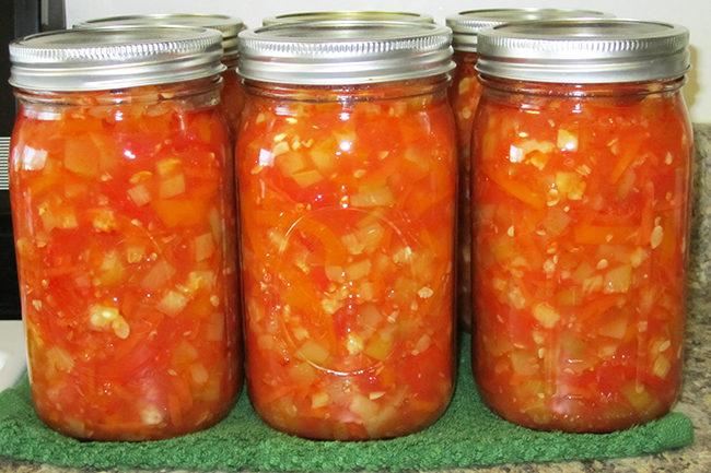 рецепт салата кабачки с томатом