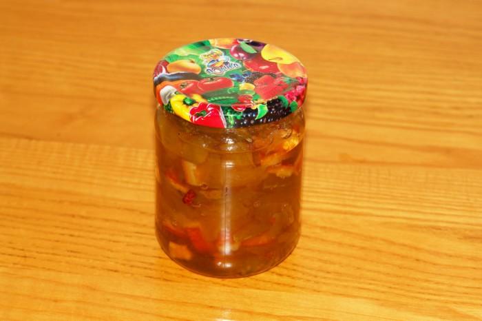 Янтарное варенье из яблок с апельсинами
