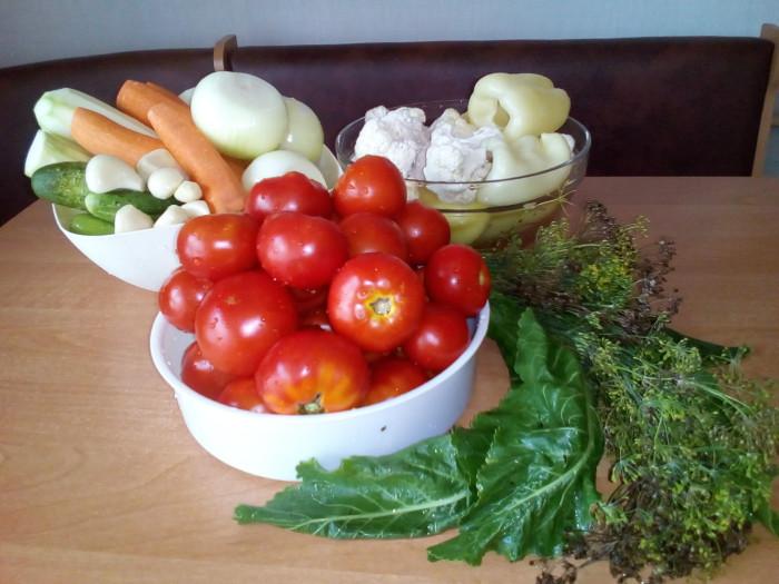 Маринуем овощное ассорти на зиму