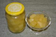 Консервированные кабачки как ананасы на зиму