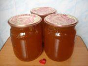 Варенье-конфитюр из сливы алычи на зиму