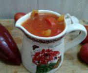 Домашнее лечо с уксусом по-казахски