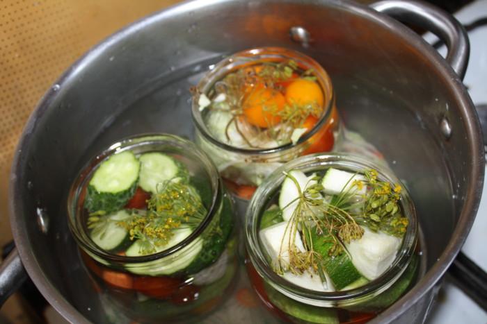 Овощное ассорти маринованное на зиму