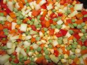 Замороженная мексиканская смесь овощей
