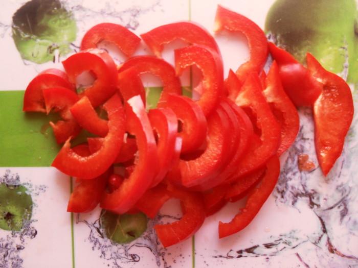 Салат из баклажан с шампиньонами
