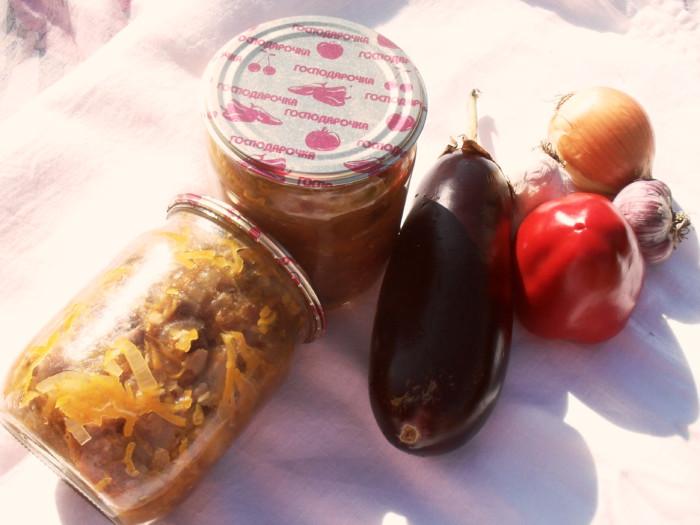 як закривати салат з баклажанів легкий рецепт