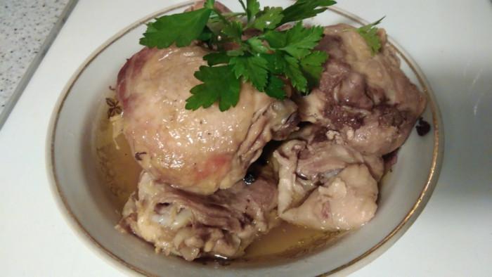 тушенка из курицы на зиму в духовке рецепт