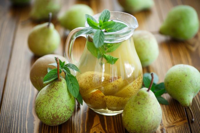 рецепт компот из груш на зиму с фото