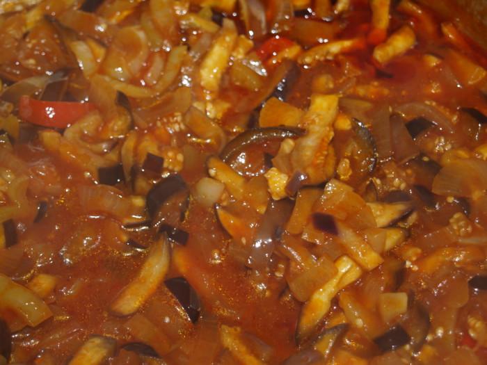Зимний салат из баклажан без стерилизации