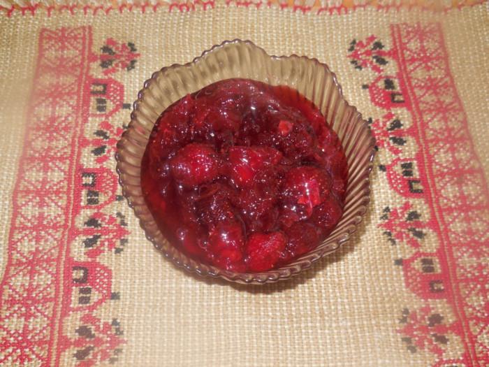 Варенье из чайной розы и клубники