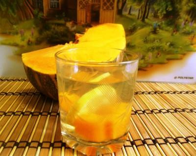 Компот из тыквы с лимоном на зиму