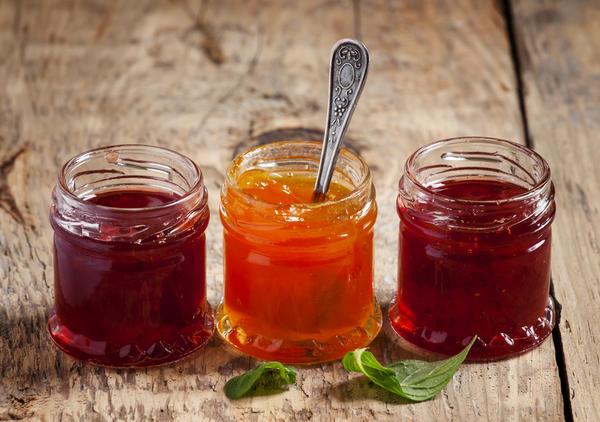 Желе из сока и фруктов
