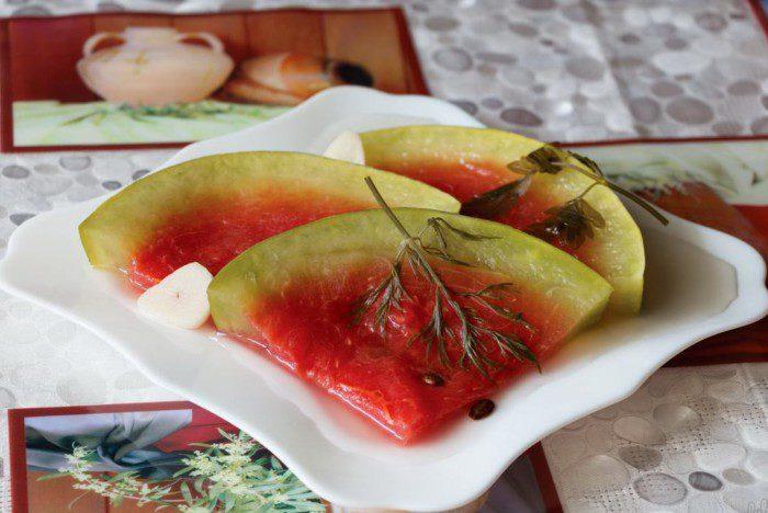 Малосольные арбузы быстрого приготовления - рецепт пошаговый с фото