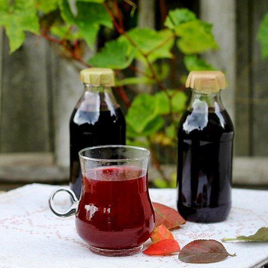 сок из черноплодной рябины
