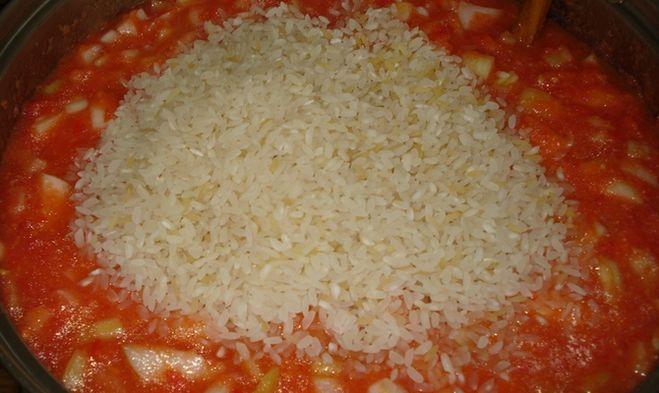 Лечо с рисом